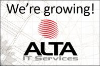 We're growing! Announcement for ALTA acquisition.