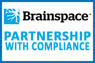 Brainspace Logo Partnership with Compliance Image