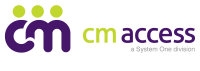 CM Access, a System One Division, logo